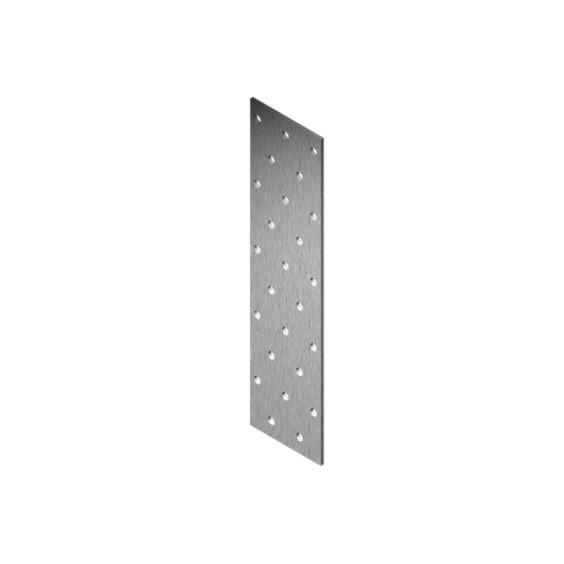 Roostevaba perforeeritud naelutusplaat 2.0 mm